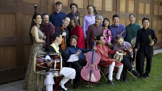 The Silk Road Ensemble at Tanglewood